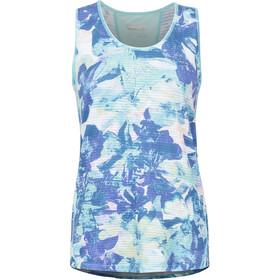 Marmot Aero Sleeveless Shirt Women blue/white